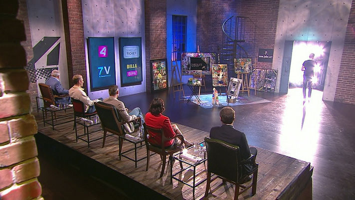 "PULS 4 Start-Up Show ""2 Minuten 2 Millionen"""