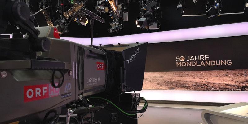 ORF Sondersendung Mondlandung