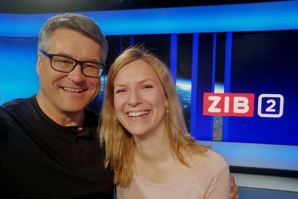 ORF Newsroom mit Beatrice !