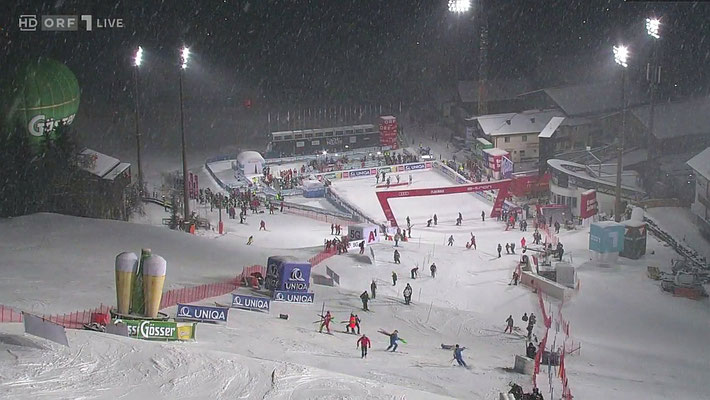 Schi Weltcup Nachtslalom Flachau