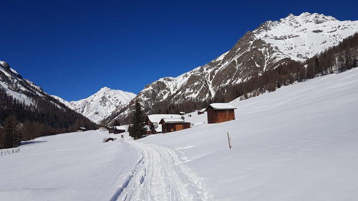 Prà San Peider im Winter