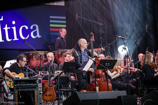 Martin Berner bei JazzBaltica mit Lars Danielsson