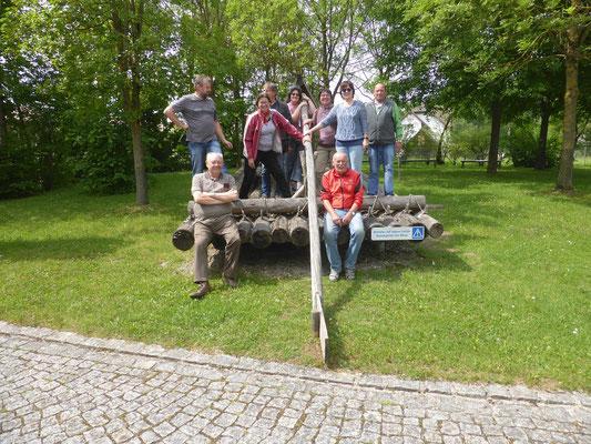 2018 05 19 Kolping Fahrradausflug Bieberbach Langweid