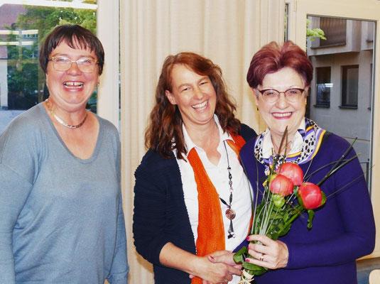 2019 05 05 Kolping Mitgliederversammlung, Ein herzliches Danke der Vorstandschaft auch an Luise Thalmeier