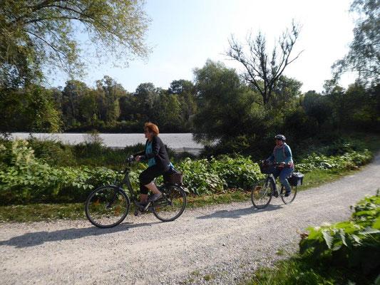 19. September 2020 Kolping Fahrrad- Überraschungs- Fahrt entlang dem Lech