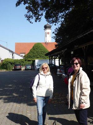 19. September 2020 Kolping Fahrrad- Überraschungs- Fahrt Meitingen Fahrradabstellplatz