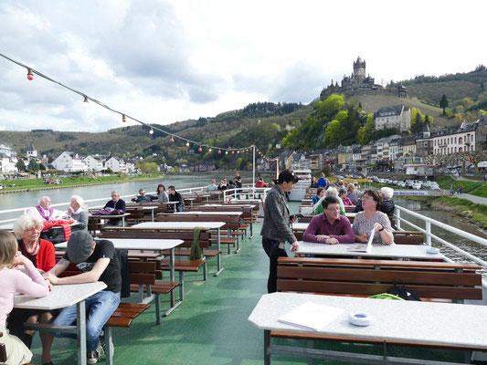Kolping Jahresfahrt an die Mosel 15.04.2018 Schiffahrt auf der Mosel