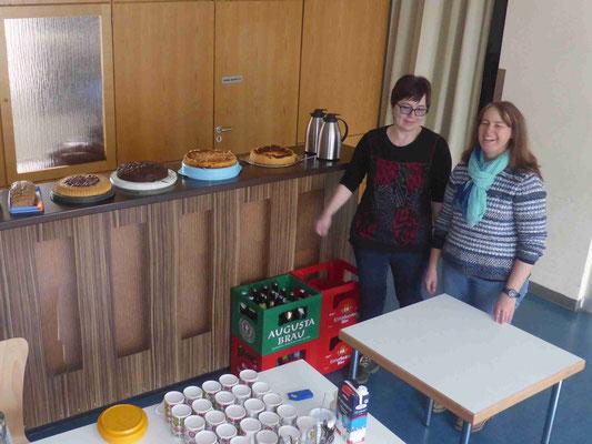 2018 03 04 Kolping Kindersachenbörse Kaffee und Kuchen