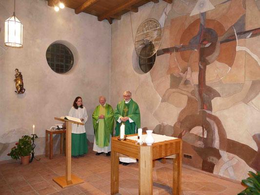 Gottesdienst mit Herrn Pfarrer Alfred Fottner und unserm ehemaligen Präses Pfarrer Johannes Rauch
