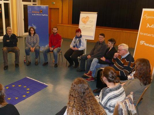 Dienstag, 29. Januar Informationsabend Europa braucht (d)eine Stimme