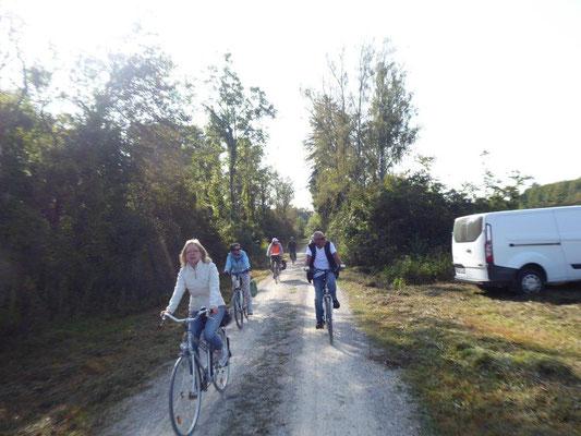 19. September 2020 Kolping Fahrrad- Überraschungs- Fahrt entlang der Wertach