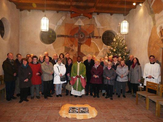 2020 01 17 Kolping Geburtstagsfeier Gottesdienst in unserer Seitenkapelle