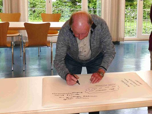Zukunftsforum Kolping, mit der eigener KF  im Pfarrsaal der Hlst. Dreifaltigkeit