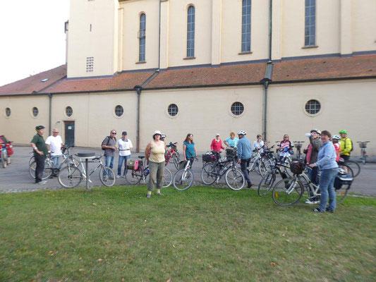 19. September 2020 Kolping Fahrrad- Überraschungs- Fahrt Rückkehr in Kriegshaber
