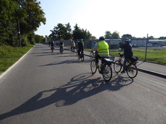 19. September 2020 Kolping Fahrrad- Überraschungs- Fahrt Gersthofen