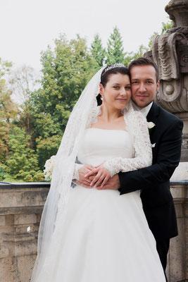 romantische Hochzeit in München