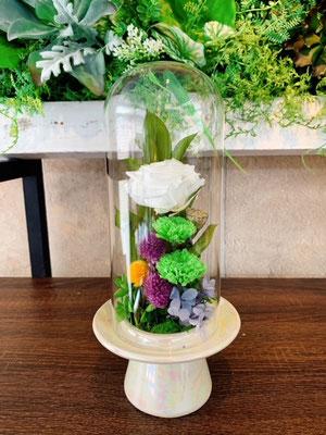 プリザーブドフラワーお供え花