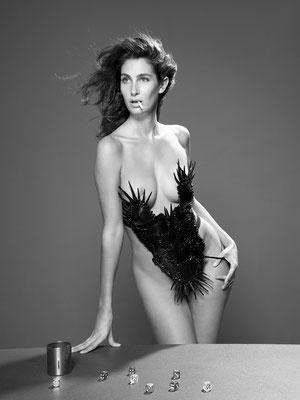 Camilla D'Alfonso byph.  GP Barbieri, styling by Paolo Lattuada