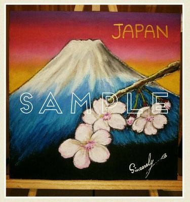 富士山&桜