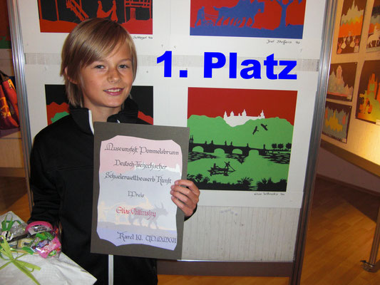 1. Platz: Elias Willinsky
