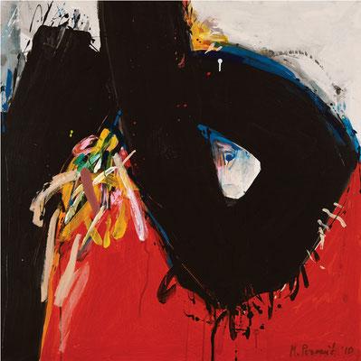 """Titre """"Part of Sleep N°1"""" (2010) / 100 cm x 100 cm / Peinture à l'acrylique sur toile / Prix: 6900€"""