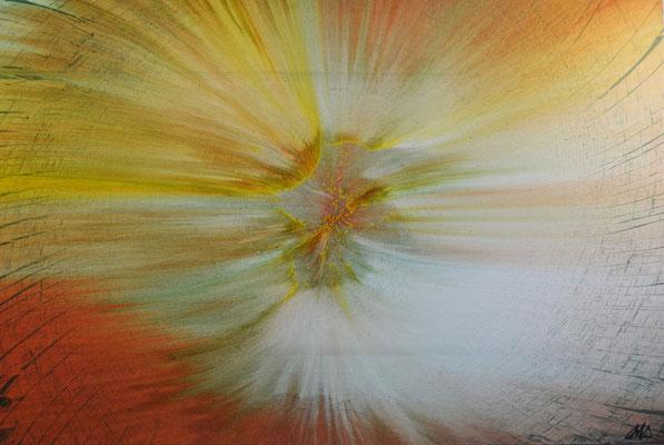 """""""Field Of Rye"""" (2013) / 150 cm x 100 cm / Acrylique sur toile / 5900 €"""