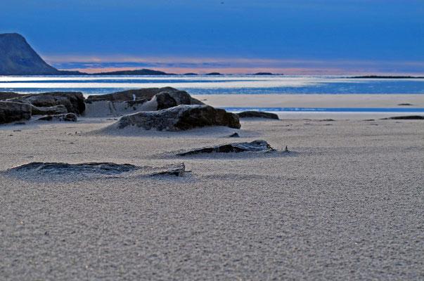 am Strand von Ramberg