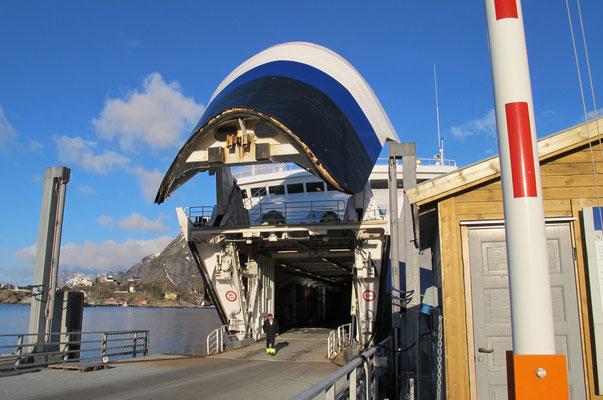 die Fähre nach Bodø