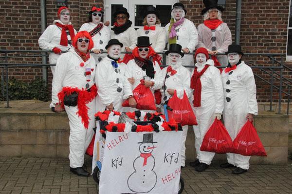kfd-Karnevalsumzug 2015