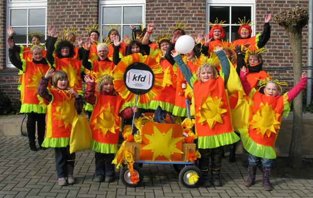 kfd-Karnevalsumzug 2012