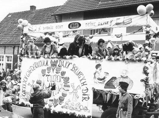 kfd-Karnevalsumzug 1980