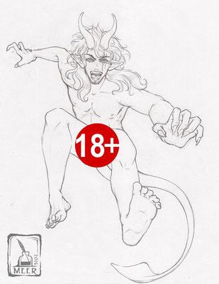 Angehende Dämonenform von Thales