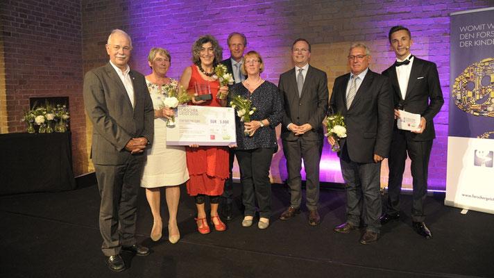 Foto Bundessieger Nordrhein-Westfalen (c) Haus der kleinen Forscher/Jens Jeske
