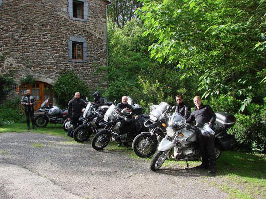 randonnée moto en Auvergne Haute-loire