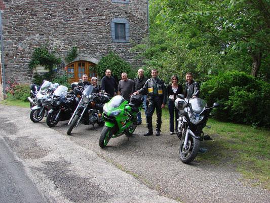 Bienvenue aux motards ! Moulin du Bateau.