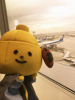 羽田空港にも行って来たよー