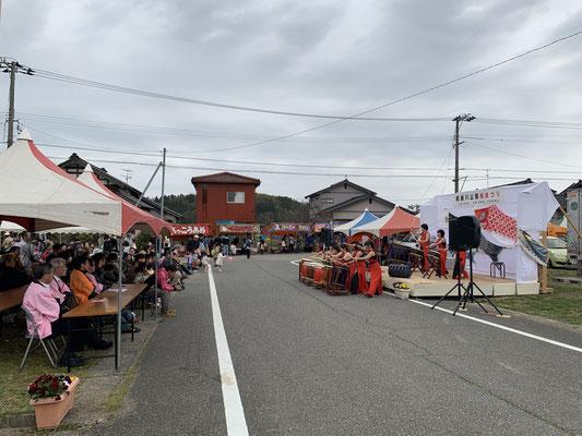 能瀬川桜まつり