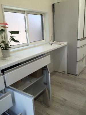 台所キッチン ゴミ収納