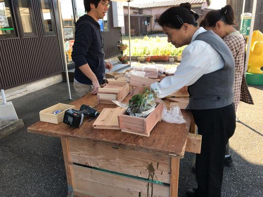 岡田工務店プランター