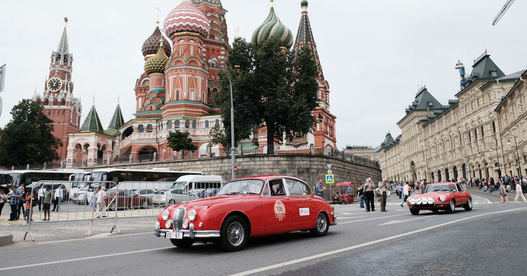 21 июля 2018г. Парад ретро-автомобилей в г.Москве
