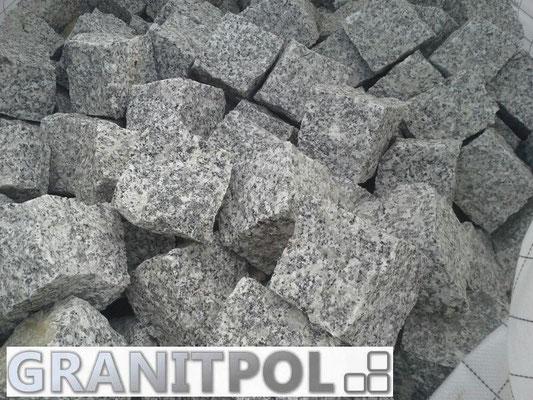 Gespaltenes Granitpflaster aus Polen