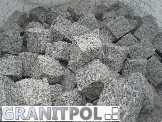 Graue Pflastersteine aus Polen