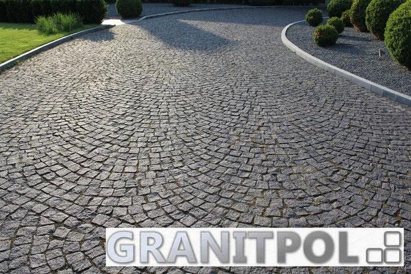Granitpflaster SCHWARZER SCHWEDE