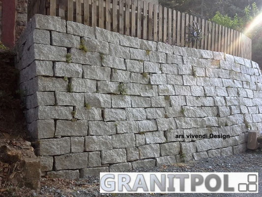 Mauersteine schlesisch GRAU 40x20x20cm