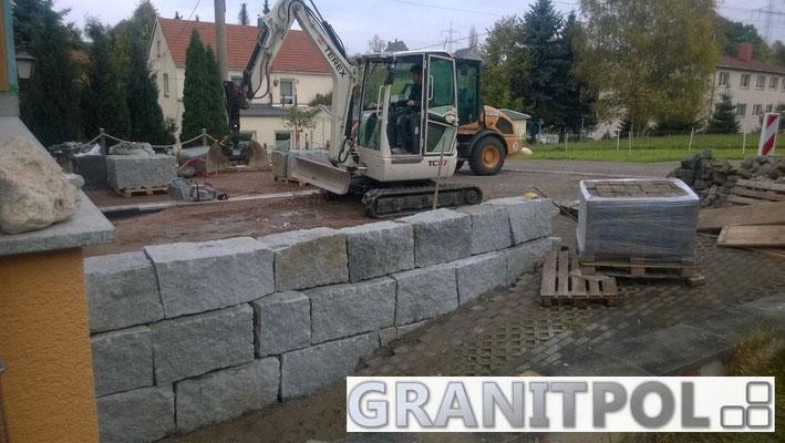 Mauersteine GRAU 50x50x60-120cm