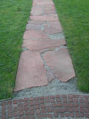 Gartenplatten Sandstein Granitpolde - Günstige gartenplatten