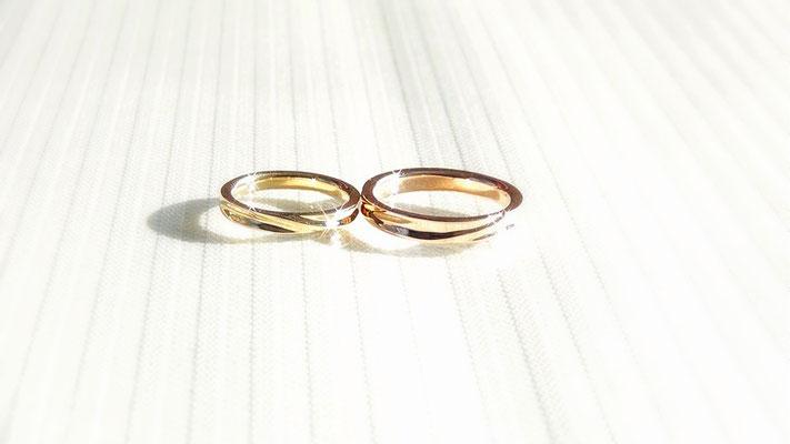 手作り結婚指輪<完成1>