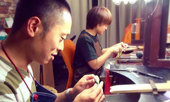 東京で手作りするふたりの結婚指輪