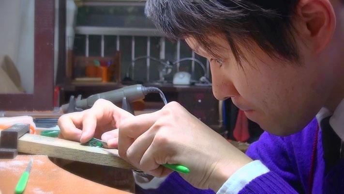 ワックスで婚約指輪の原型を自分で手作りする~工程5~