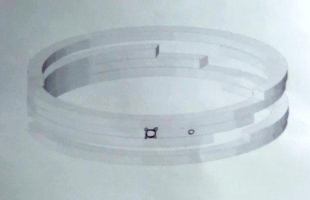 手作り婚約指輪のデザイン画
